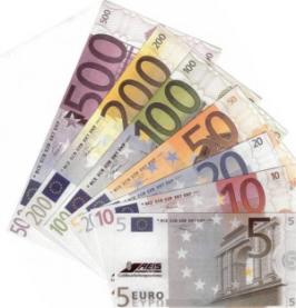 Peníze Euro