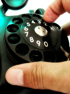 Klasický telefon