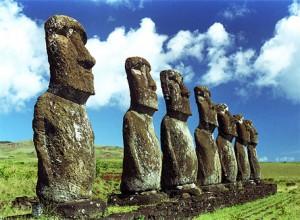 Velikonoční ostrov Easter island