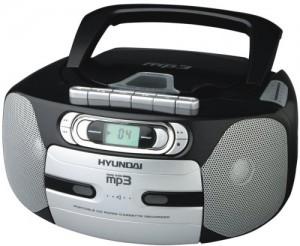 Radiomagnetofon Hyundai