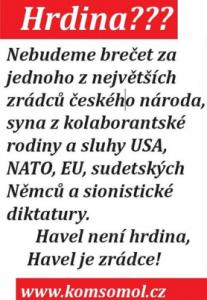 Havel zrádce