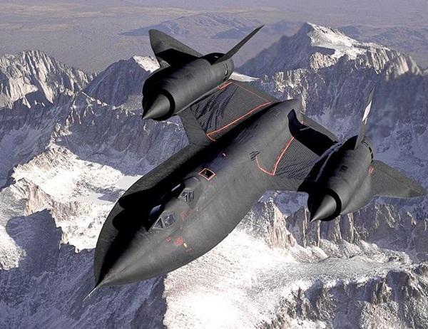 Lockheed sr-71 blackbird-nejrychlejší letadlo světa