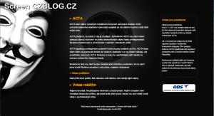 Web ODS hacknut! Za útokem stojí hackeři z Anonymous