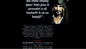 Stránky České televize hacknuty