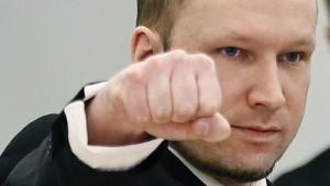 Breivik u soudu