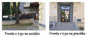 Fronta na sociálce a pracáku