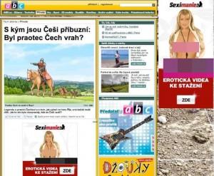 Abicko.cz inzerovalo pornostránku!