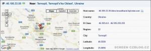Do WordPressu se nabourávají útočníci z Ukrajiny