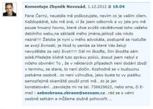 Novosád komentář na Czblogu