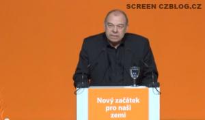 Jaroslav Zavadil na sjezdu ČSSD