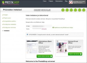PrestShop-průvodce instalací