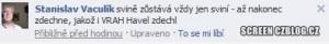 VRAH Havel zdechl
