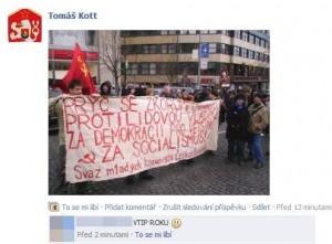 Kott na Facebooku