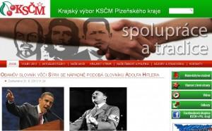 Web KSČM