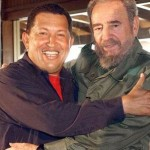 Chávez a Castro