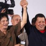 Chávez a Kaddáfí