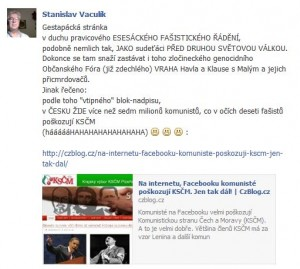 KSČM Facebook
