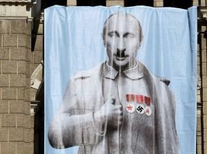 Putin na liberecké radnici